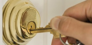 deadbolt lock gold